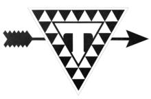 Triangle Film Corporation logo 1915 - One Eye