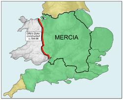 Mercian Supremacy x 4 alt - The name AMERICA